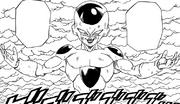 Frieza transforms manga