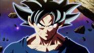 Goku despierta la Doctrina egoísta por tercera vez
