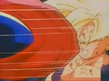 Hatchyack hits gohan in the face