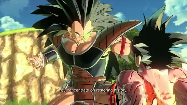image raditz and goku jpg dragon ball wiki fandom powered by wikia