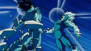 Son Goku e Vegeta si fondono con i potara