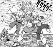 Zarbuto e Rabanra eliminati da Kale - manga