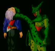 Cell asesina a Trunks
