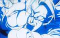 Vegeta's Respect - SS3 Goku Kamehameha4