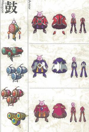 Dragon Ball Online - Classe de Plasmajins
