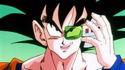 Ginew nel corpo di Son Goku