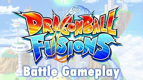 Dragon Ball Fusions - 3DS - Battle Gameplay (Spanish)