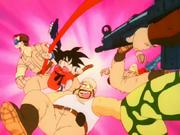 Goku contro il Fiocco Rosso