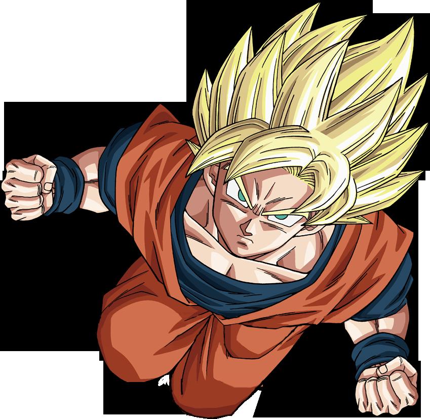 Imagen  Goku ssj full powerpng  Dragon Ball Wiki  FANDOM