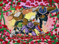 The Ginyu Force greets Frieza