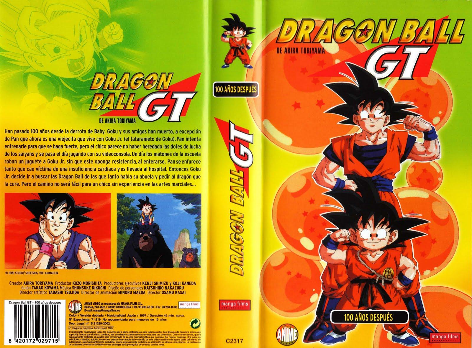 Imagen  VHS DRAGON BALL GT LAS PELICULAS MANGA FILMS 1jpg