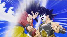 Bardock vs Goku