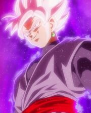 Black Goku Super Saiyan Rosa