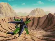 Cell non riesce a colpire Gohan