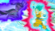 Improved Hit vs SSB Kaioken Goku