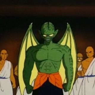 Tamburello quando arriva al tempio del Re Chappa nella Saga del Grande Mago Piccolo.