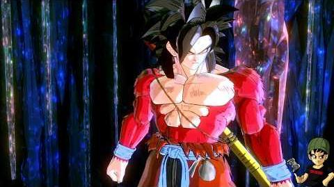 Demon God Shroom Vs Xeno Goku (Super Saiyan 4) - Dragon Ball Xenoverse 2 Mods