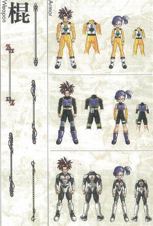 Dragon Ball Online - Classe de Combattants