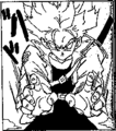 DBZ Manga Chapter 331 - SS F Trunks uses Burning Attack