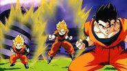 Goku, gohan y goten