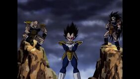 Nappa, Vegeta, and Raditz 2