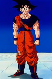 GokuAfterFightingVegetaBuuSa