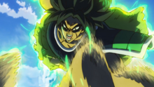 Broly attacca