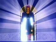 Future Trunks coming out from time chamber