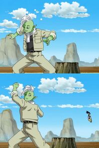 Goku nel corpo di Zamasu