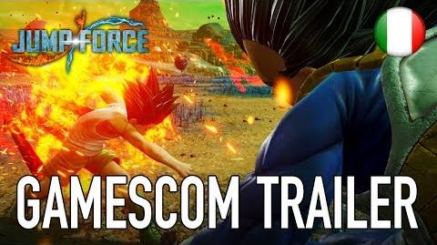 JUMP Force - PS4 XB1 PC - gamescom trailer (Italiano)