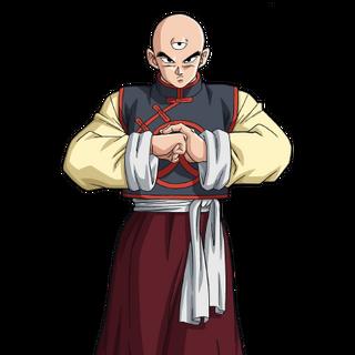 Tenshinhan in Dragon Ball Super.