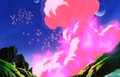 Vegeta's Respect - Kid Buu's attack 3