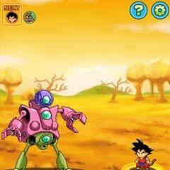 Goku contro Pilaf, Shu e Mai.