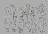 Sketch DBZ11 Piccolo
