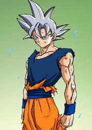 UI Goku manga