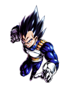 Vegeta Mundo Paralelo DB Legends Artwork MU22