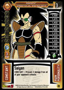 153 Raditz - Villainous Vanguard, DBZ TCG 2005 Score Entertaiment