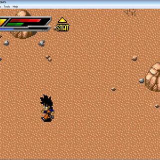 Il Deserto del Diablo in Buu's Fury.