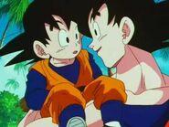 Goten y Goku