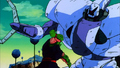 Piccolo vs robot guerrier