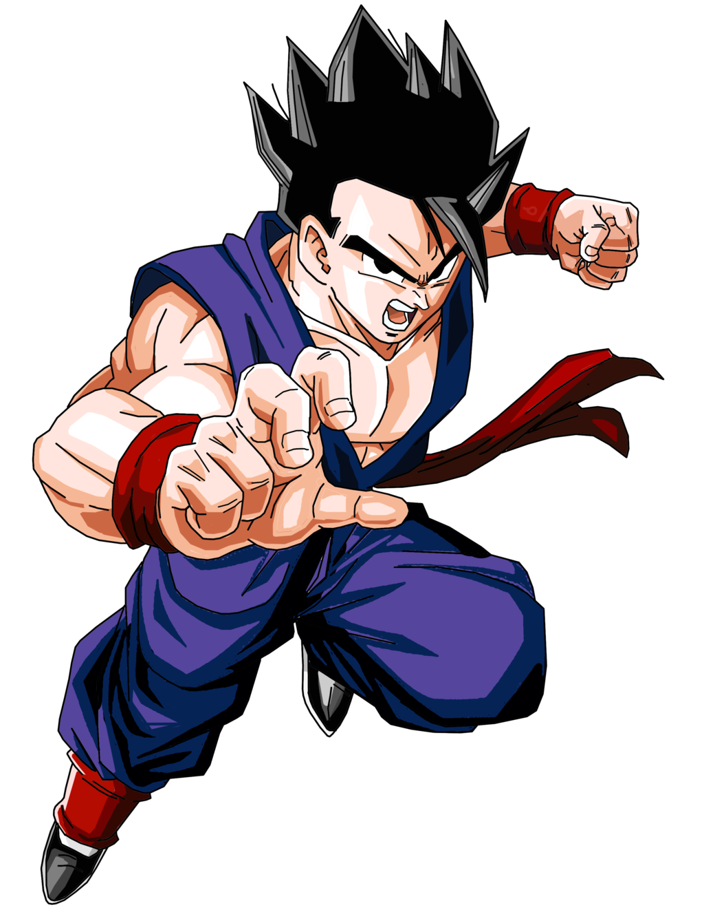 Son gohan wiki dragon ball fandom powered by wikia - Son gohan super saiyan 4 ...