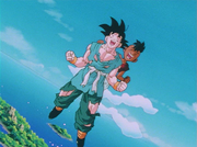 Goku and uub final