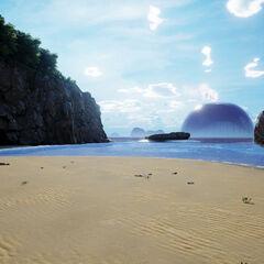 Isola Moutohorā in Nuova Zelanda.