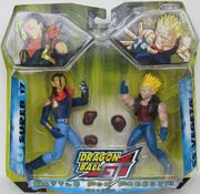 Jakks Pacific Dragon Ball GT Series 7 Battle for Freedom 2-pack Super 17 vs SS Vegeta