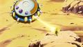 Welcome Back Goku - King Cold's Spaceship