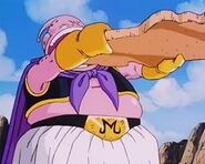 Buu eats Cookie Dabura