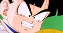 Gohan frustrated