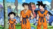 Goku,krilin y yamcha