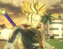 Trunks Xeno Super Saiyan