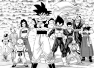 Equipo Universo 7(DBS Manga 33)